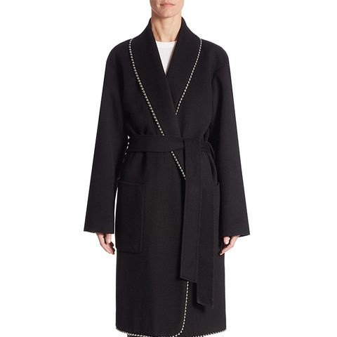 Solid Robe Coat