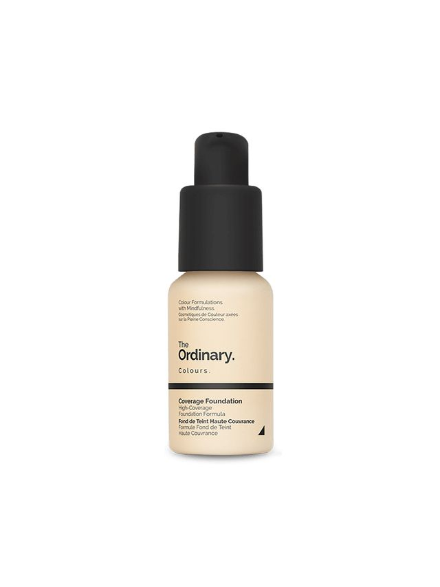Best Foundation for Oily Skin The Ordinary Coverage Foundation
