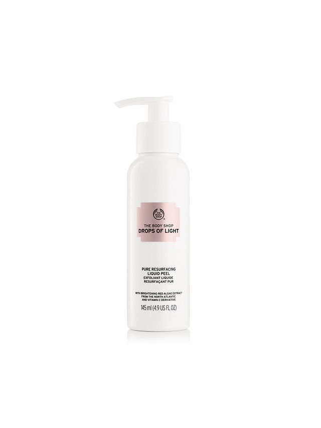 Best Exfoliant for Oily Skin The Body Shop Drops of Pure Light