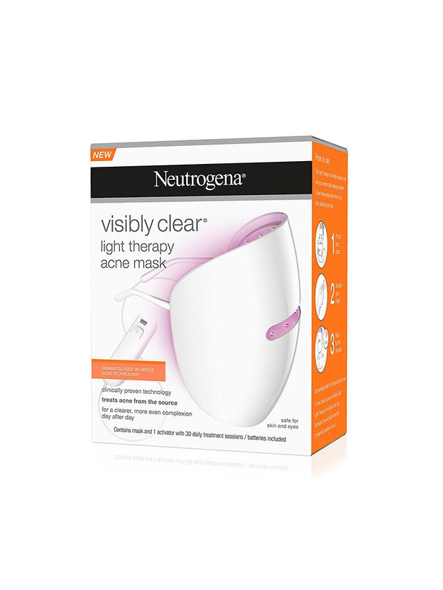 Best New Skincare Innovation Neutrogena Visibly Clear Light Therapy Acne Mask