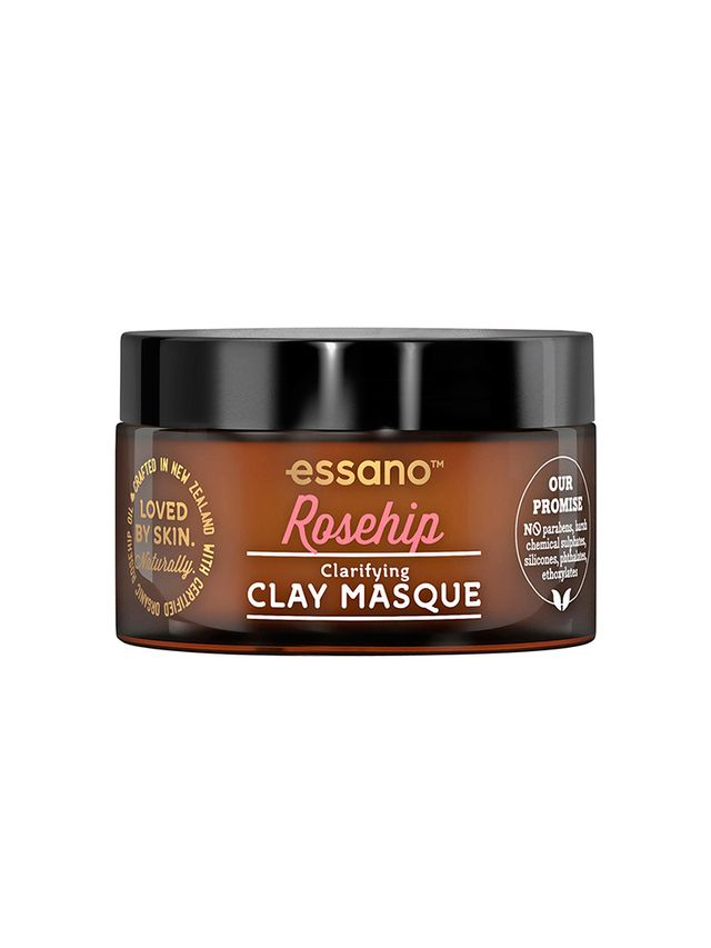 Best Face Mask for Combination Skin Essano Rosehip Clarifying Clay Mask