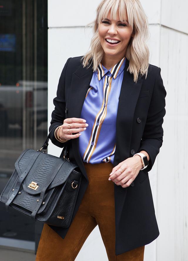 blazer work outfit