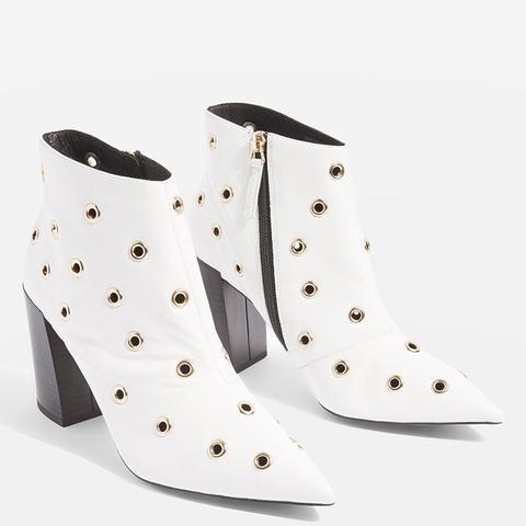 Hip Eyelet Boots