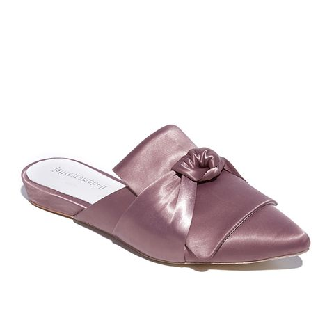 Dello Satin Bow Mules
