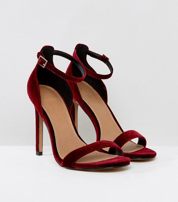 HANG TIME Barely There Heeled Sandals