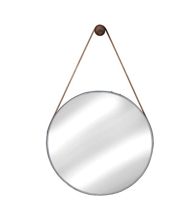 Cisco Brothers Wine Barrel Hanging Mirror