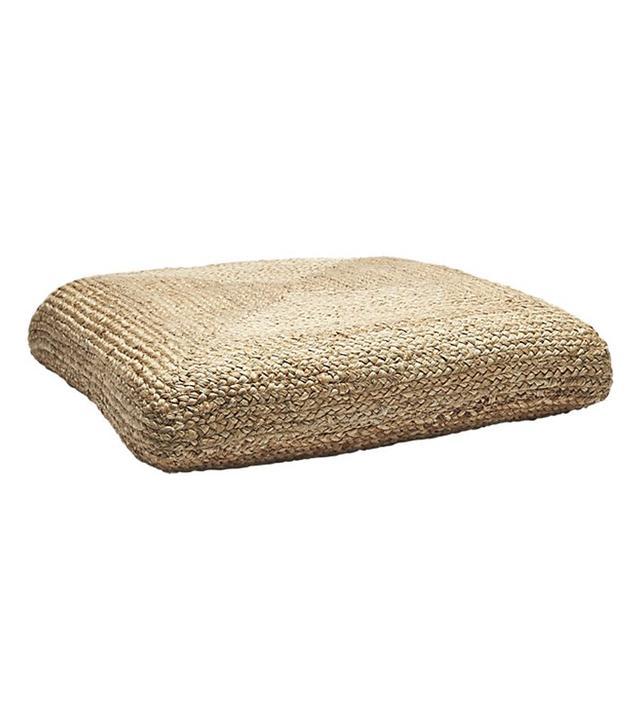 CB2 Jute Floor Cushions