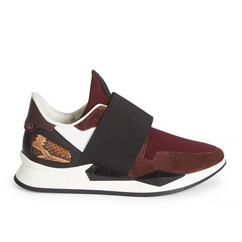 Active Suede & Python Slip-On Sneakers
