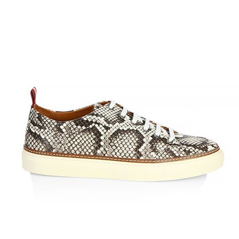 Hernando Python Low-Top Sneakers