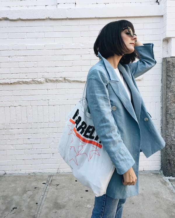 The Tote: The Brand Swag Bag What It Means: One added perk of shopping many of your favorite brands is that your purchase comes with a little something extra—a tote bag. Repping...