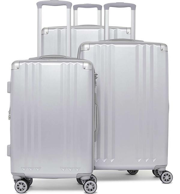 Calpak Ambeur 3-Piece Metallic Luggage Set - Metallic