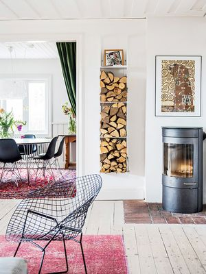 This Dreamy Swedish Home Tour Is Proof IKEA Hacks Can Look Luxe