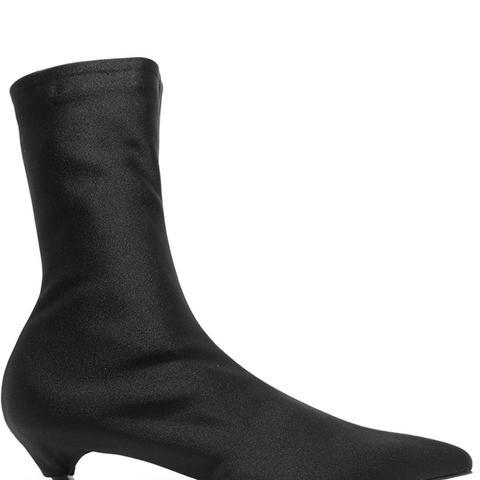 Spandex Sock Boots