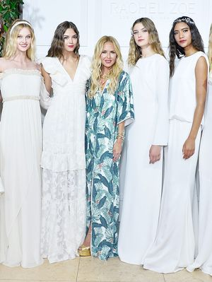 The #1 Most Flattering Bridal Trend for 2018, From Rachel Zoe