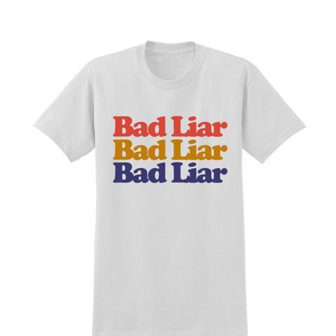 Bad Liar x3 White T-Shirt