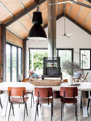 We're Obsessed With These Industrial Kitchens—Are You?