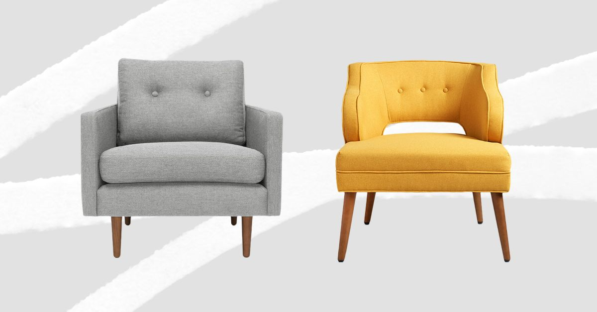 found: the 15 best midcentury lounge chairs | mydomaine