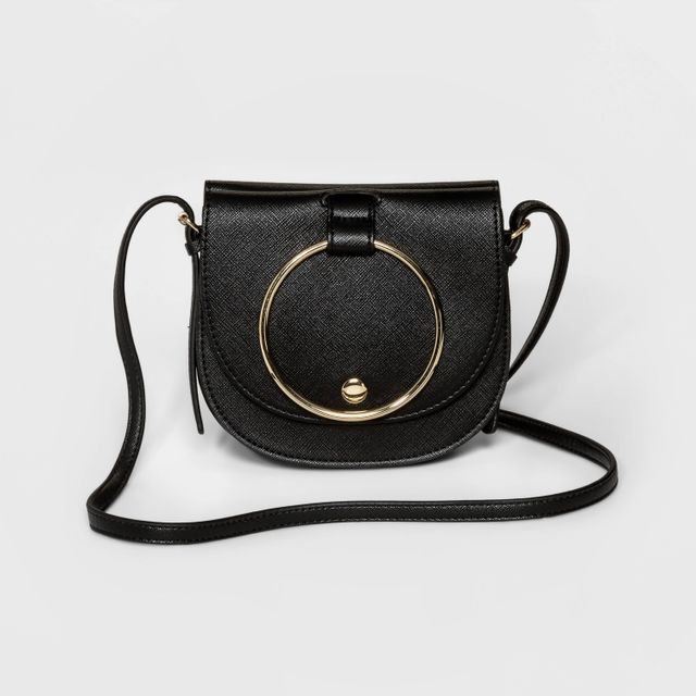 Who What Wear Ring Mini Crossbody Bag
