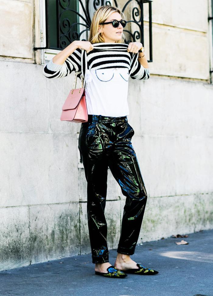 Boob fashion trend: Camille Charriere boob t shirt