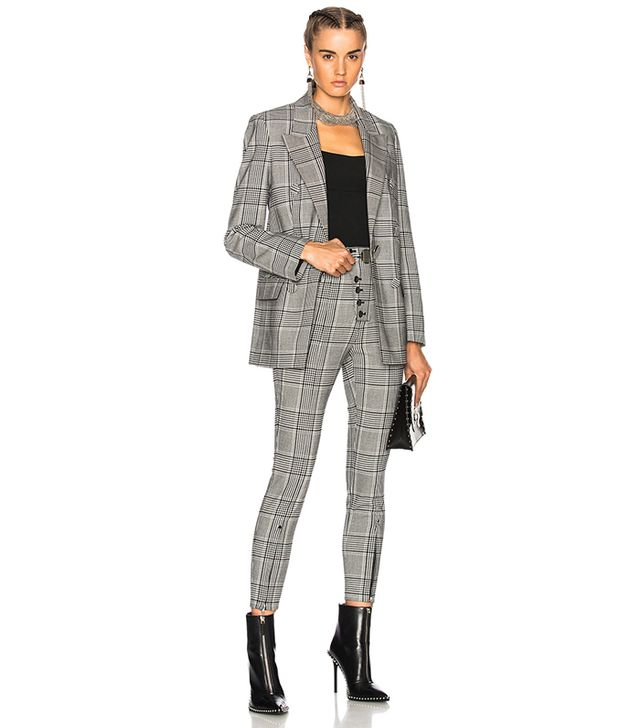 Alexander Wang Single Breasted Blazer