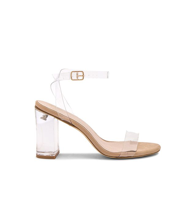 x REVOLVE Alta Heel in Beige. - size 6.5 (also in 10,5.5)