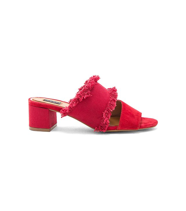 Acme Heel in Red. - size 38 (also in 39)