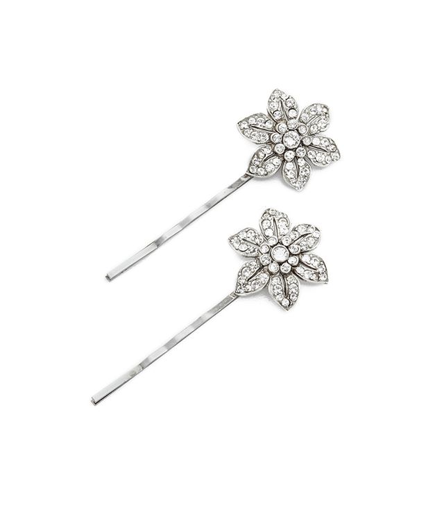 Floral Bobby Pin Set of Two
