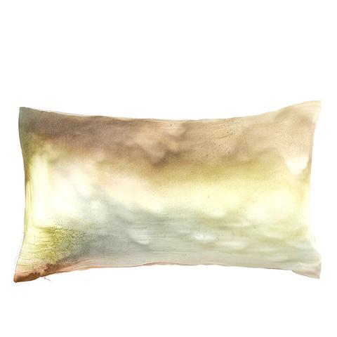 Horizon Silk Pillow Earth