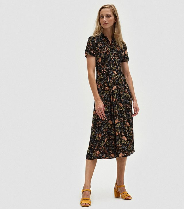 Lydia Floral Midi Dress