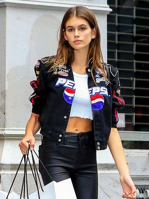 Kaia Gerber's First Fashion Week Outfit Was Very Cindy Crawford