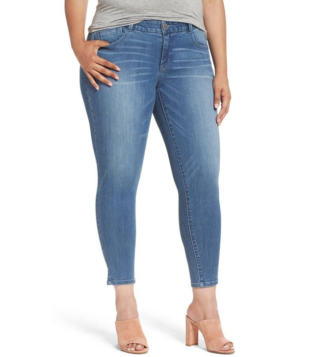 Ab-Solution Ankle Skinny Jeans