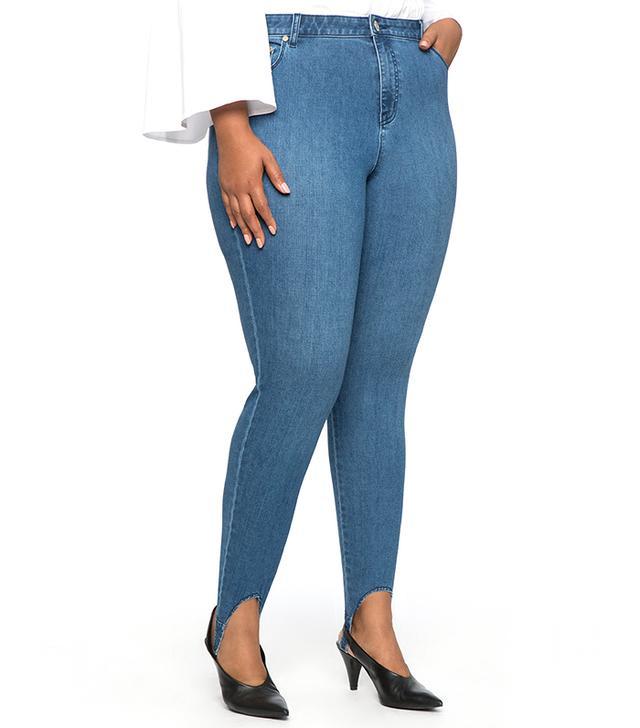 Eloquii Stirrup Skinny Jean