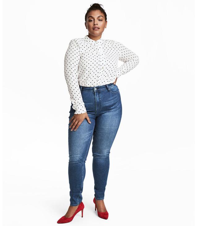 H&M+ Skinny High Jeans