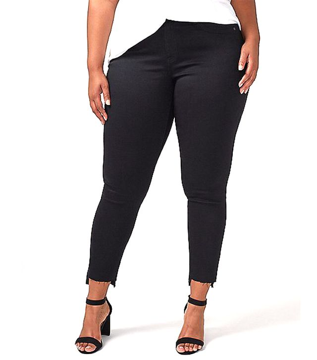 Lane Bryant Super Stretch Skinny Jean With Vented Step Hem