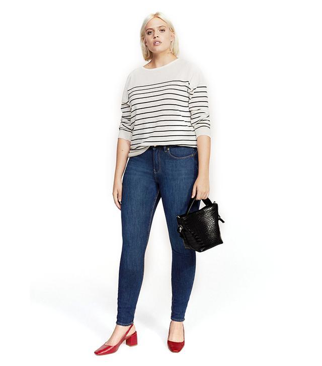Bi-Stretch push-up jeans