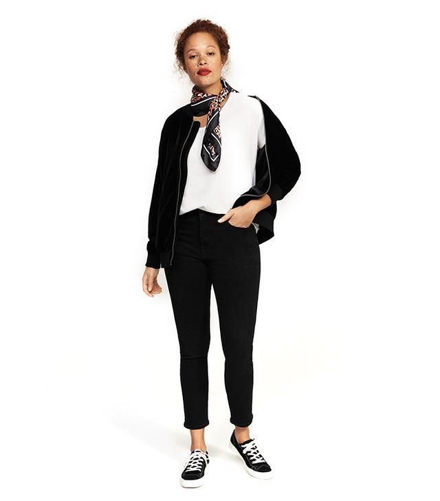 Slim-fit push up Mariah jeans
