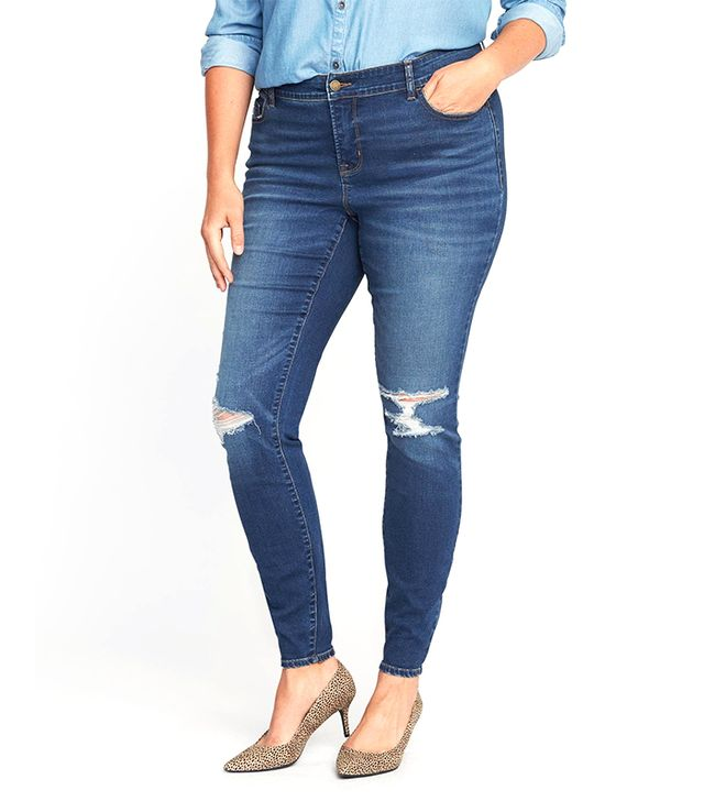 Old Navy Smooth & Slim High-Rise Rockstar Jeans