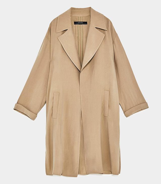 Zara Flowing Trench Coat