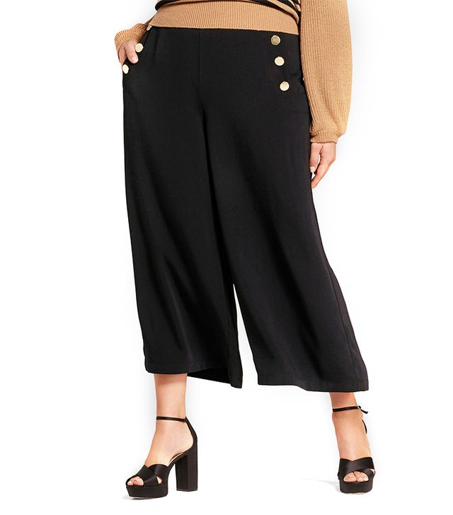 Who What Wear Cropped Sailor Pants