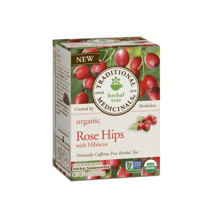 Rose Hips Tea With Hibiscus by Traditional Medicinals
