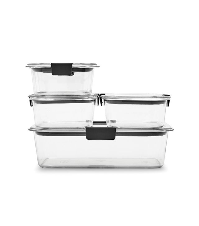 Rubbermaid Brilliance Glass Food Storage Containers