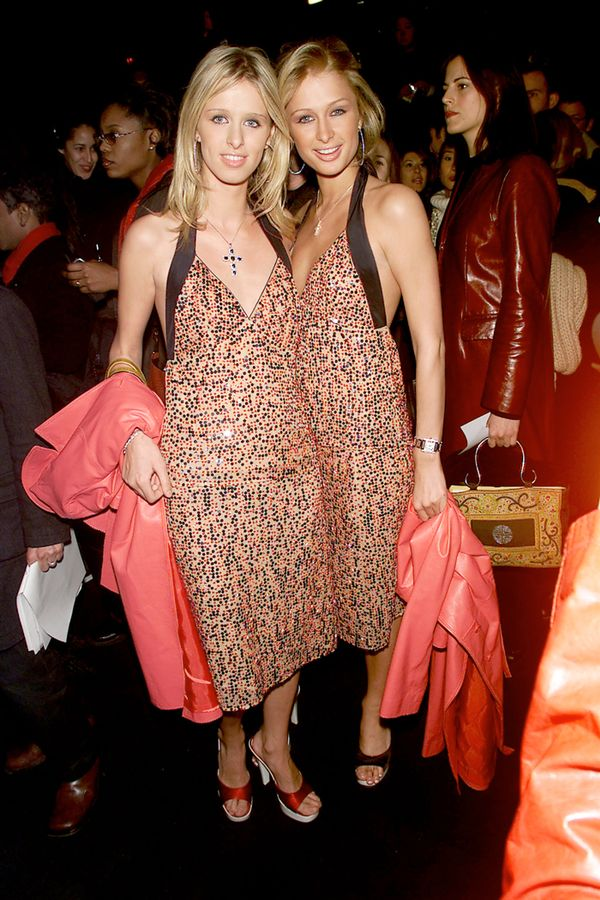 fashion week in the 2000s