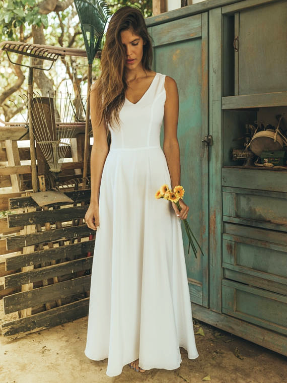 Eliana Bridal Simple Wedding Dress