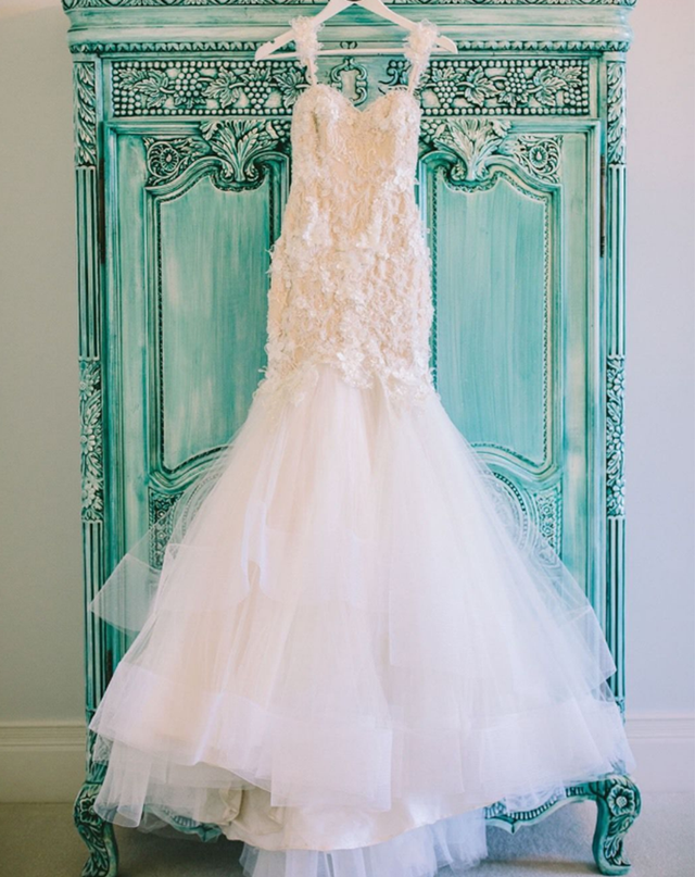 Suzanna Blazevic Custom Couture French Lace Wedding Dress