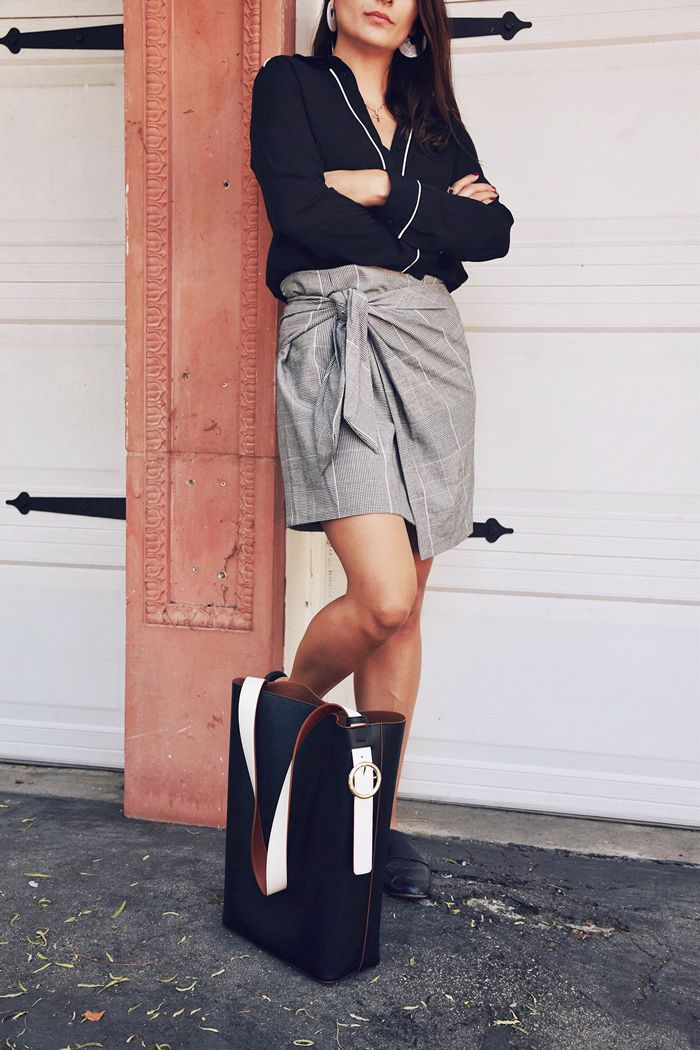 best los angeles fashion bloggers - mini skirt outfit