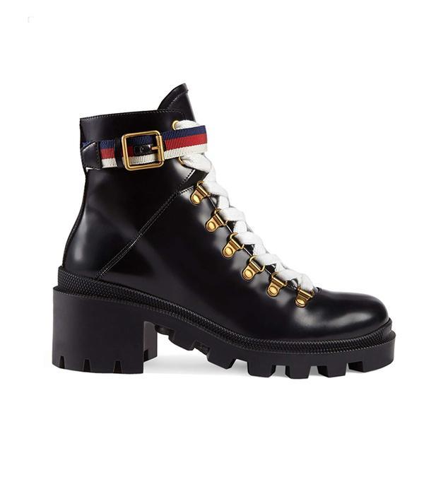 Trip Lug Sole Combat Boot