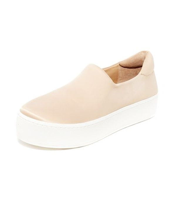 Cici Satin Slip On Sneakers