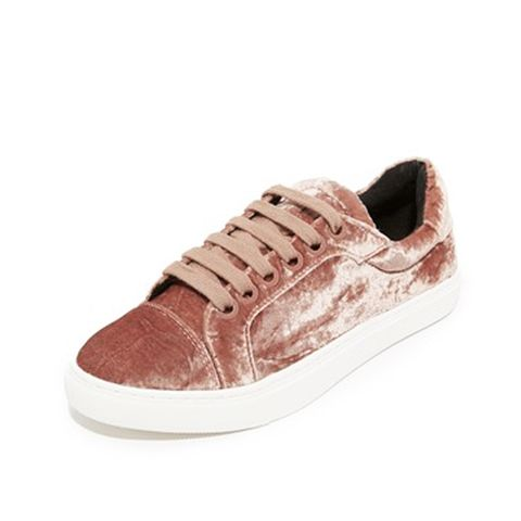 Bleecker Too Velvet Sneakers