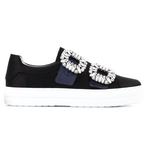 Sneaky Viv Double Buckle Sneakers