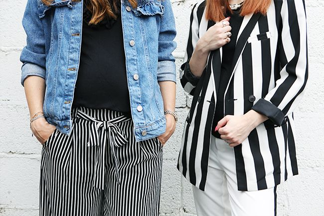 How To Hide A First Trimester Pregnancy Bump Who What Wear